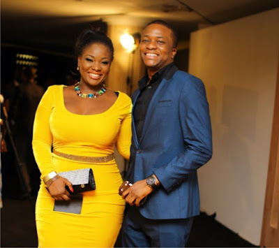 Image result for VERY Curvy OAP, Toolz Welcomes First Child With Husband, Tunde Demurin
