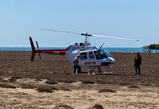 Helicopter charter to the island.. the only way to get there!