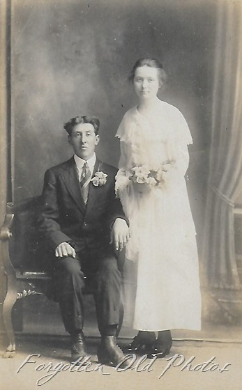1904-1918 Wedding photo Dl ant