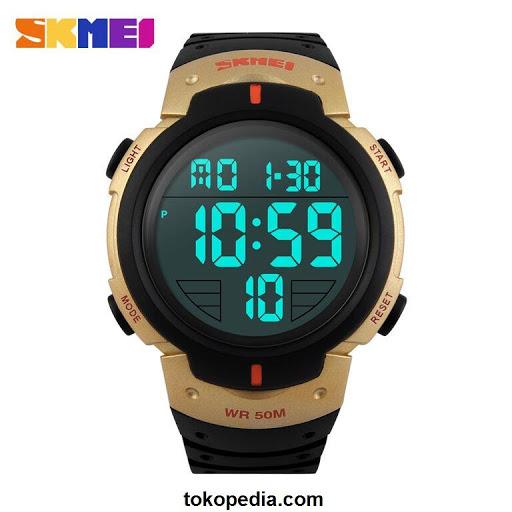 SKMEI Pioneer Watch/Jam tangan LED Digital Waterpr