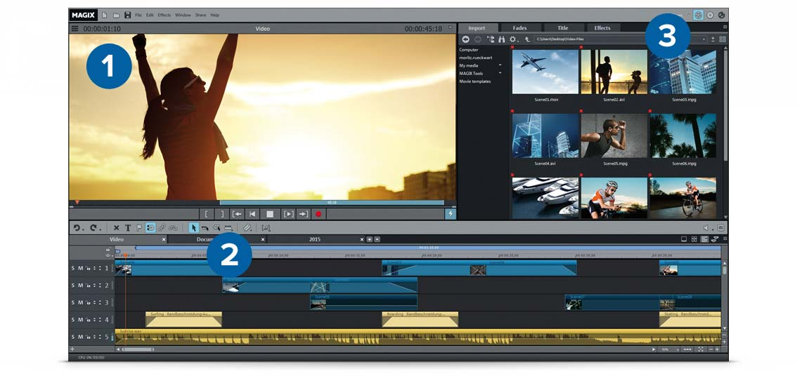 MAGIX Movie Edit Pro 2019 Premium 18.0.2.235