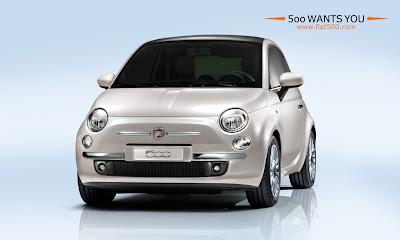 Fiat 500 - 2007 Euro model
