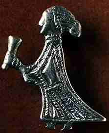 Valkyrie With Drinking Horn, Asatru Gods And Heroes
