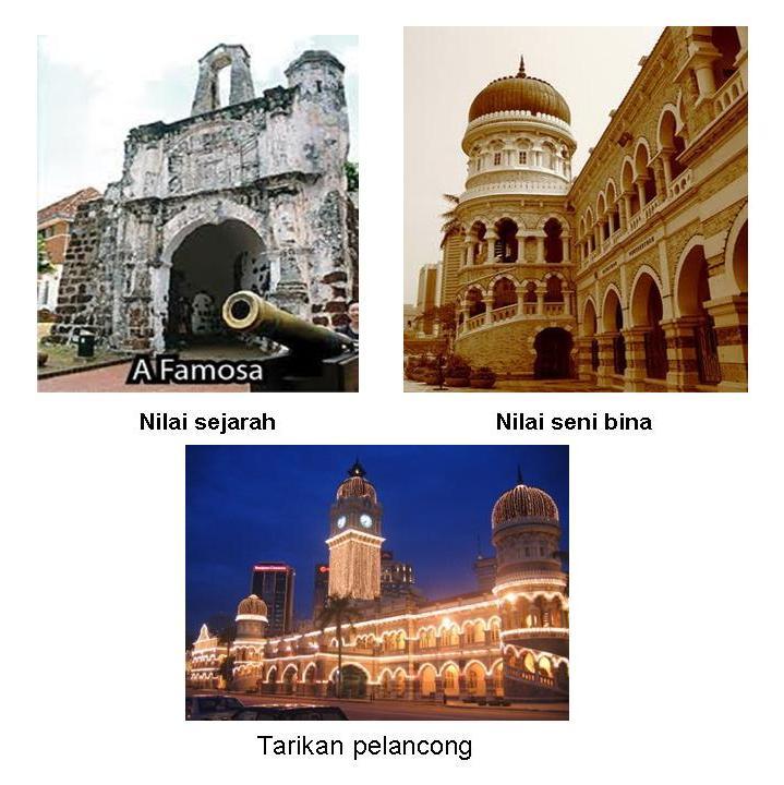 Tinta Kepentingan Pemuliharaan Bangunan Bangunan Bersejarah Di
