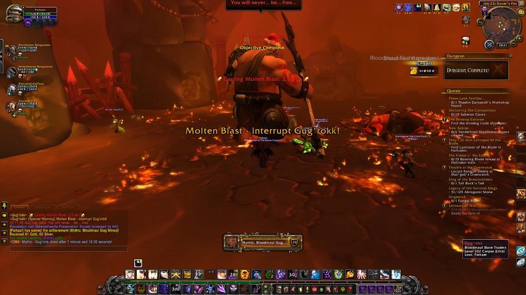 World of Warcraft - Mythic Dungeon