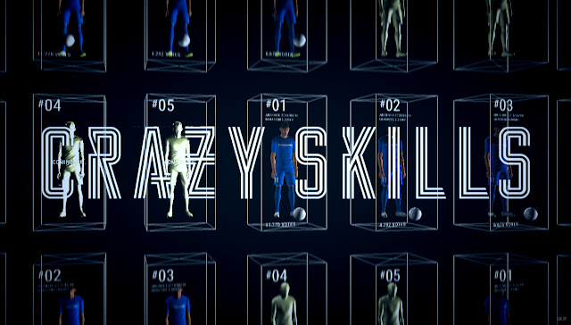 Neymar Jr. CRAZY SKILLS 起動画面