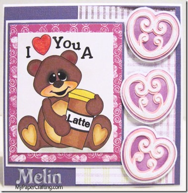 i love you a latte bear card-480rr