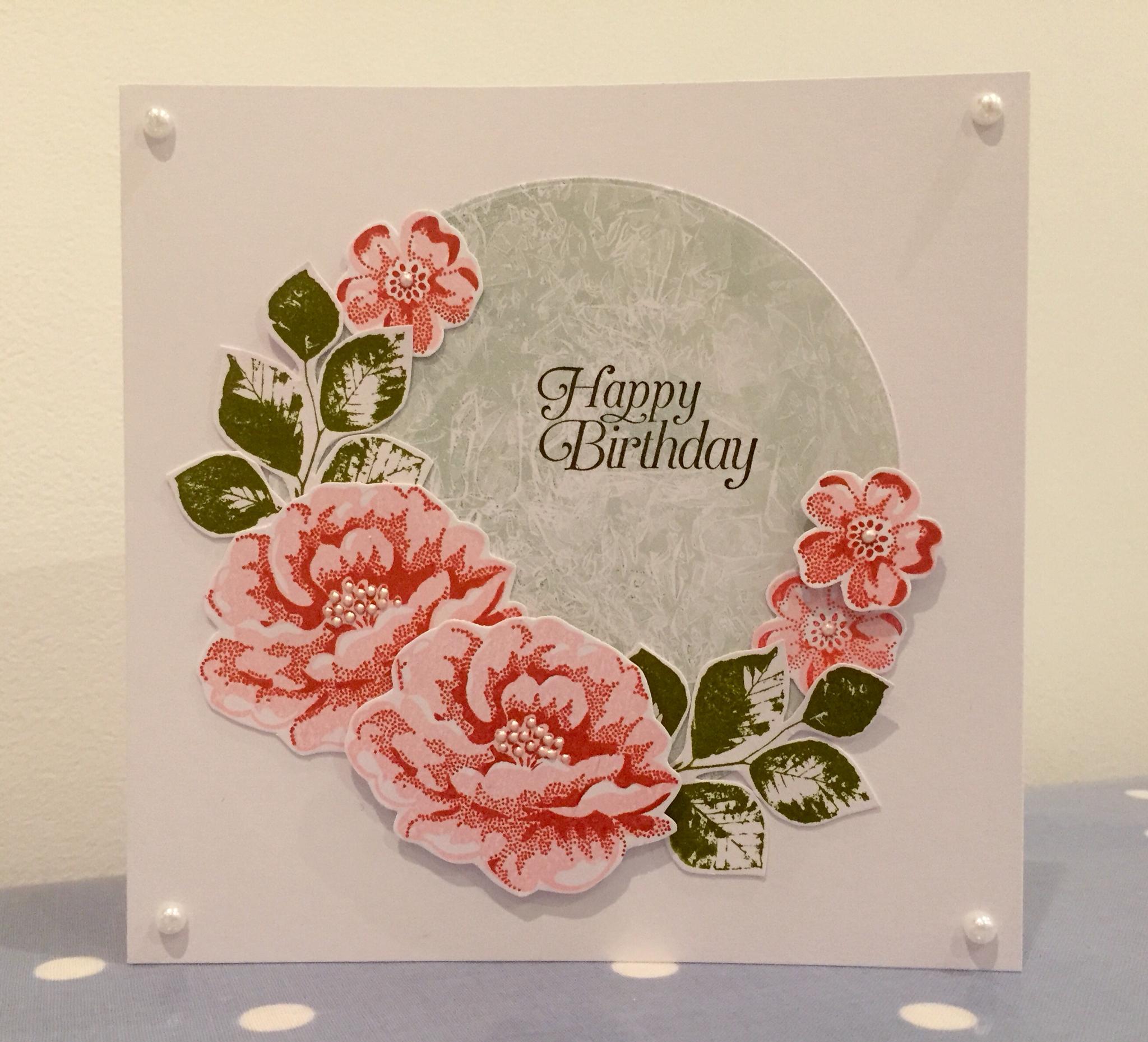 A Cath Kidston inspired card. & Wendy\u0027s Craft: A Cath Kidston inspired card...