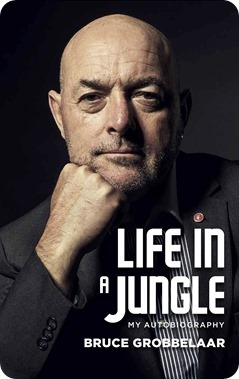 Bruce Grobbelaar - Life in a Jungle  - book cover