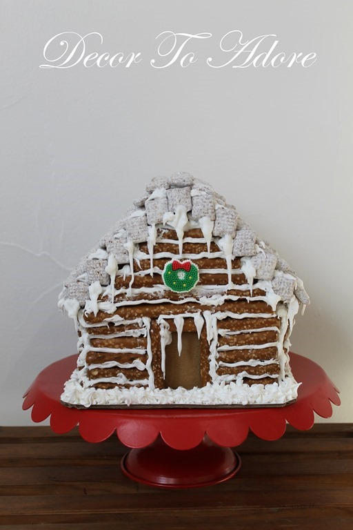 Gingerbread Log Cabin 089-001
