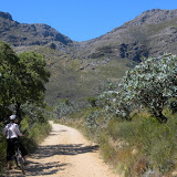 Biking in Jonkershoek Nature Reserve