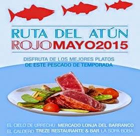 Ruta del Atún Rojo en Madrid, hasta el 31 de mayo 2015