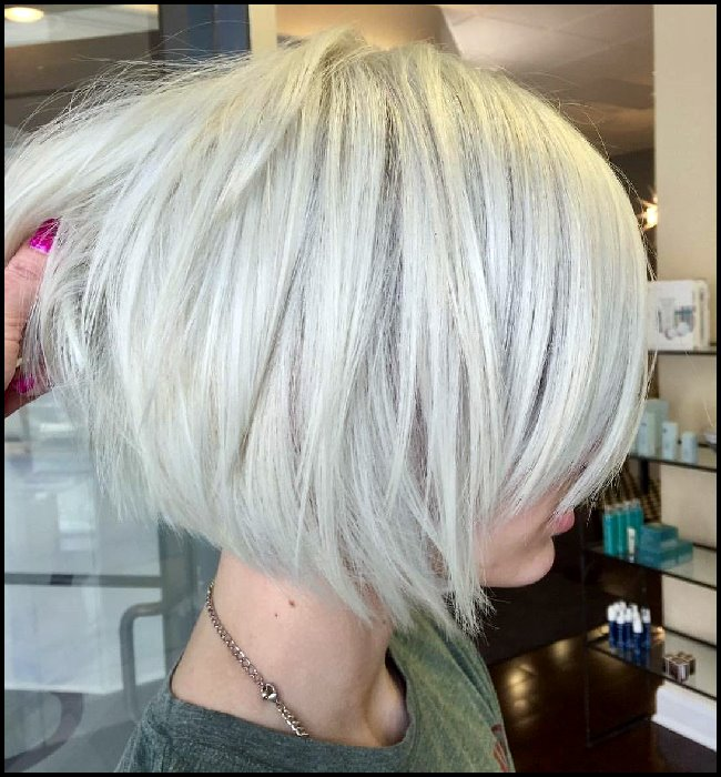 2018 Layered Bob Hairstyles For Women's 2