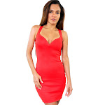 Silver-Deep-V-Neck-Body-Bandage-Dress-fieryred.jpg