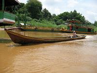 Mekong river boat