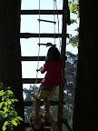 zdoláváme provazový žebřík