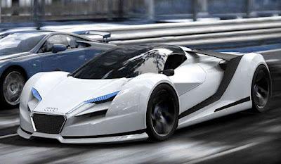 The 2019 Audi R10 hypercar concept