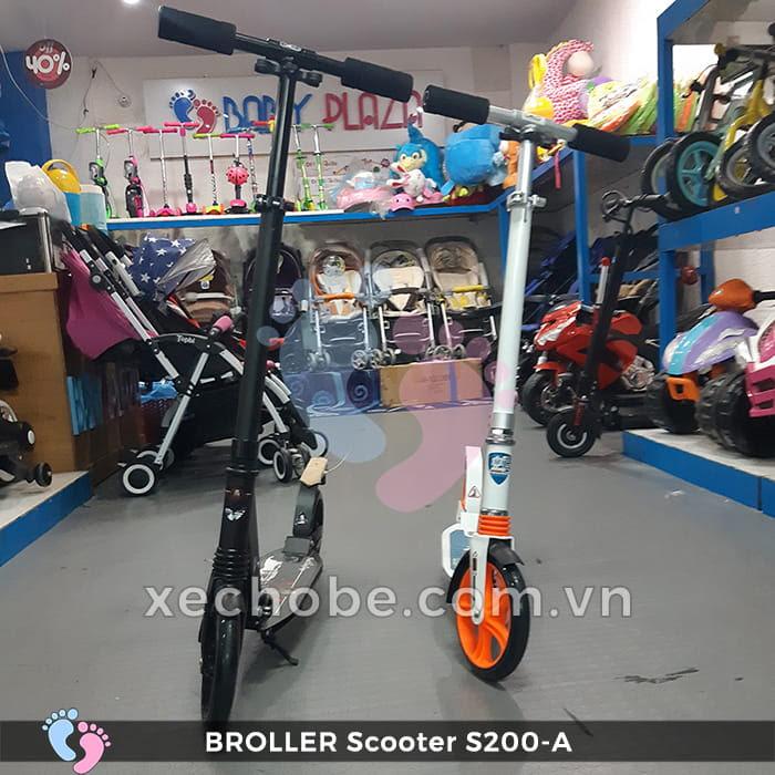 Xe trượt Scooter 2 bánh Broller S200A 4