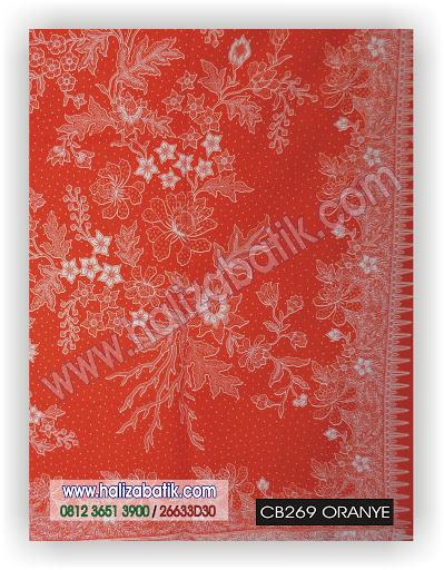 Batik Baju, Desain Baju Batik Modern, Jual Batik Online, CB269 ORANYE