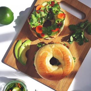 Tofu Banh Mi Breakfast Sandwich.