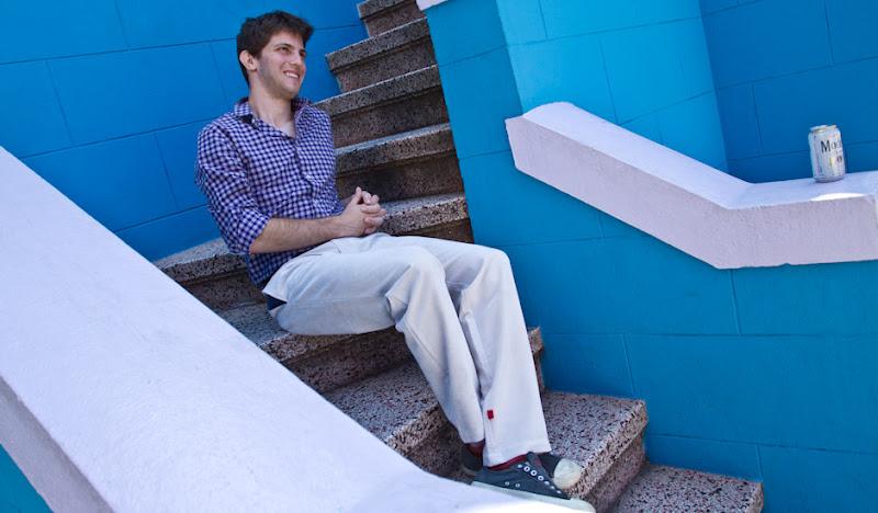 Ash Leisurerounds Matt on Stairs