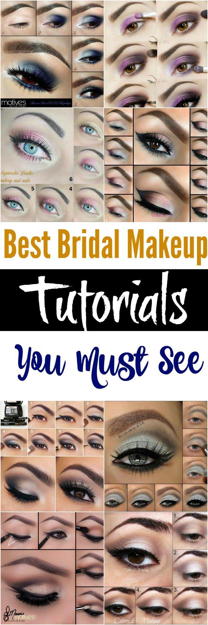 Makeup Tutorial for Bridal