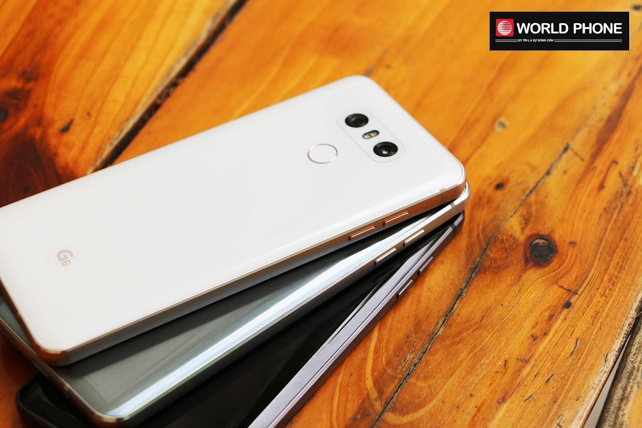 LG G6 có chống nước tiêu chuẩn IP68