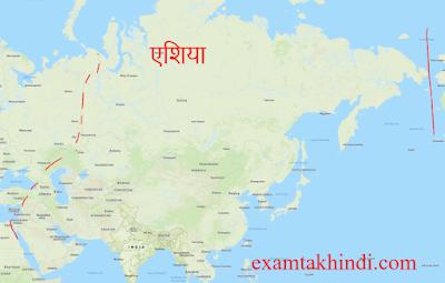 asia mahadeep map