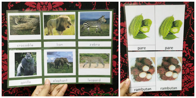 Three Part Card Versi Isnuansa