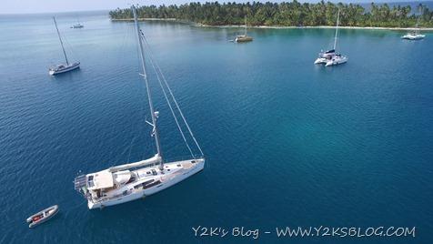 Y2K ripresa dal drone - Green Island - San Blas