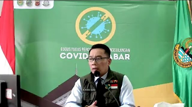Lewat video conference Ridwan Kamil Intruksikan Karang Taruna Menjadi Garda Terdepan Penanganan COVID-19