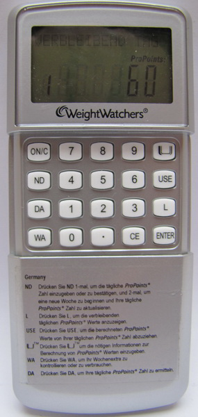 mampf dich gesund points calculator. Black Bedroom Furniture Sets. Home Design Ideas