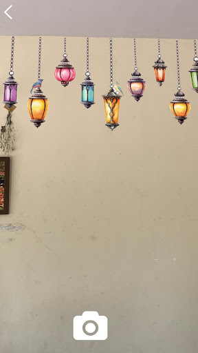 Screenshot AR Rangoli