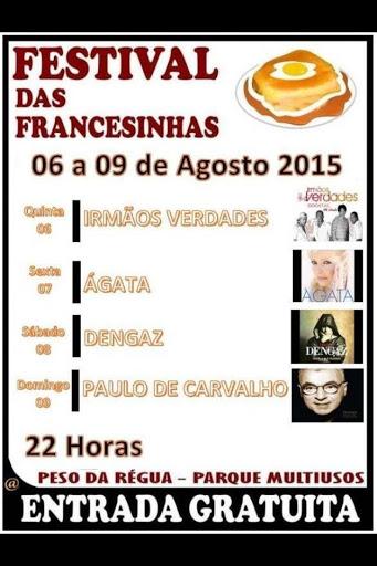 FESTIVAL DAS FRANCESINHAS - RÉGUA
