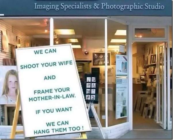shoot your wife
