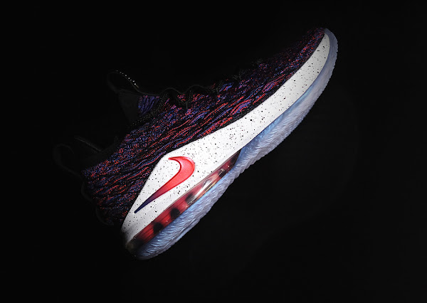 Nike LeBron 15 Low Multicolor Launches Overseas Tomorrow