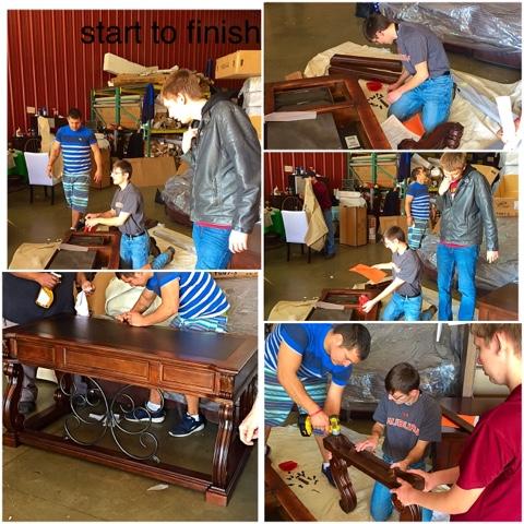 Alabama Furniture Market  Calera, Al.