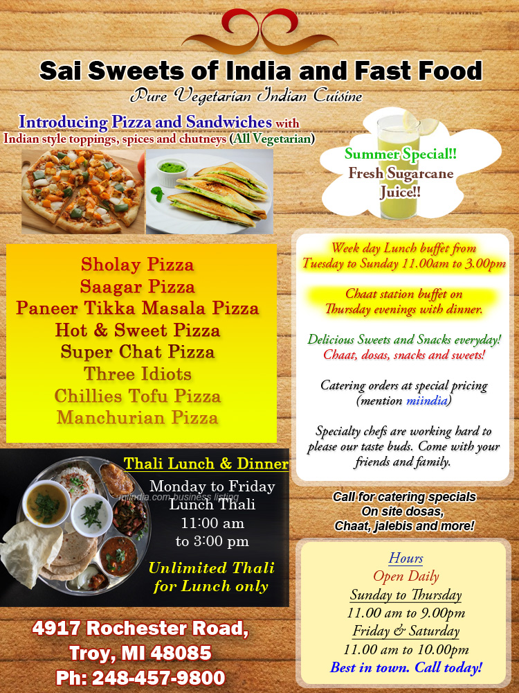 Tuesday Fast Food Lunch Specials
