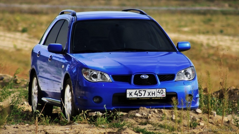 2007 subaru impreza wagon specifications pictures prices. Black Bedroom Furniture Sets. Home Design Ideas