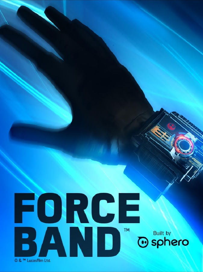 Star Wars Force Band by Sphero- screenshot