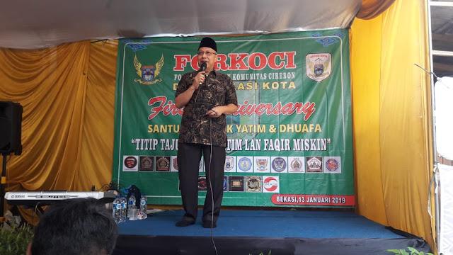 Rayakan First Anniversary, Mahfudz Abdurrahman Didaulat Jadi Dewan Penasehat Forkoci