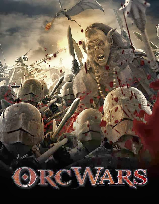 Poster Of English Movie Orc Wars (2013) Free Download Full New Hollywood Movie Watch Online At Alldownloads4u.Com