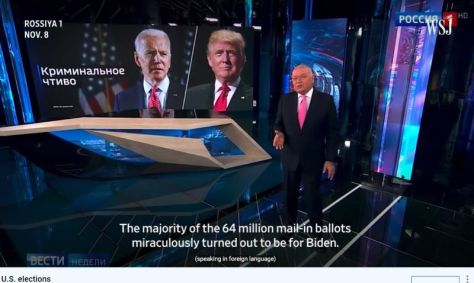 Russian media and US election