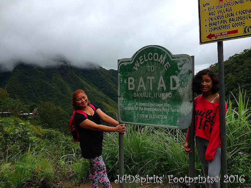 Welcome Sign to Batad, a UNESCO Heritage Site