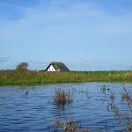 038-We paddelen door het mooie Noordwaard vaarwater.