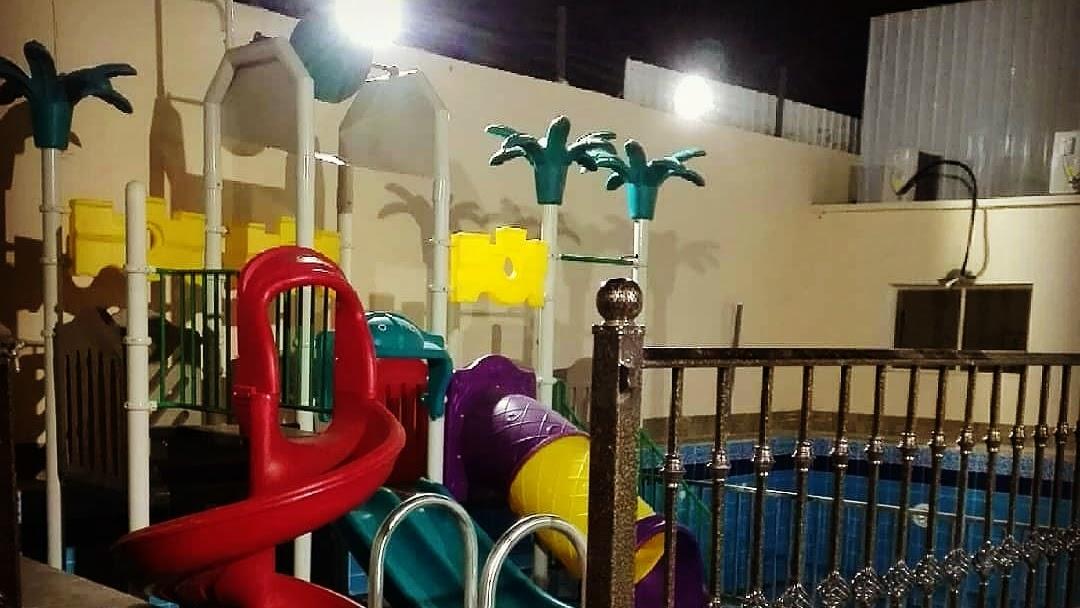 شالية شوق للألعاب المائية منتجع في المدينة المنورة