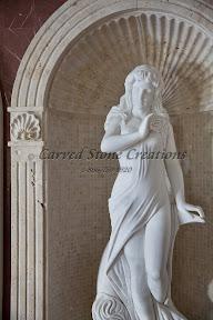 Interior, Showroom, Statuary, Statues