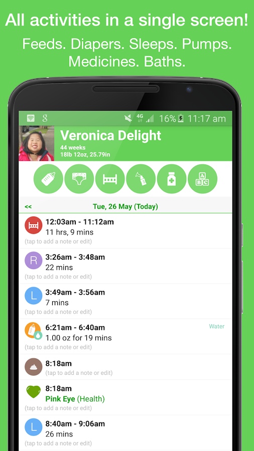 Feed Baby - Baby Tracker - screenshot