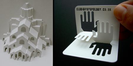3D визитки. 21 фото