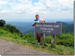 Buck Springs Gap Overlook BRP MP 407.7